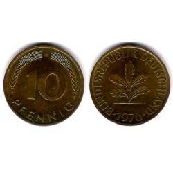 (108) Alemania. 1976(G). 10 Pfennig (MBC)