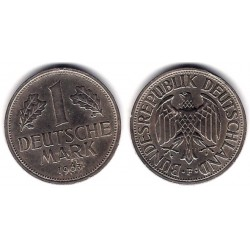 (110) Alemania. 1963(F). 1 Mark (MBC)