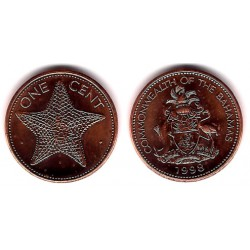 (59a) Bahamas. 1998. 1 Cent (SC)