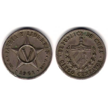 (11.3) Cuba. 1961. 5 Centavos (MBC-)