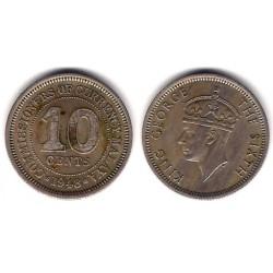 (8) Malaya. 1948. 10 Cents (MBC+)