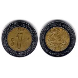 (603) Estados Unidos Mexicanos. 2013. 1 Peso (MBC)
