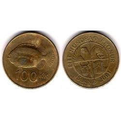 (35) Islandia. 2001. 100 Kronur (BC)