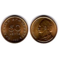(115) Grecia. 1982. 50 Lepta (SC)
