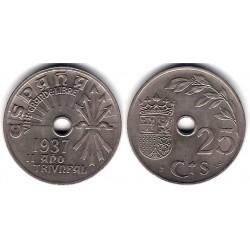Estado Español. 1937. 25 Céntimos (SC)