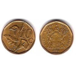 (135) Sudáfrica. 1994. 10 Cents (EBC)