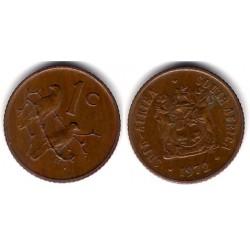 (82) Sudáfrica. 1972. 1 Cent (SC)