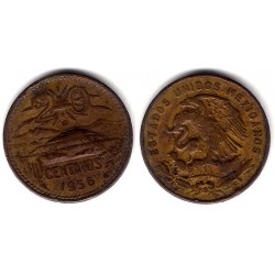 (440) Estados Unidos Mexicanos. 1956. 20 Centavos (MBC-)