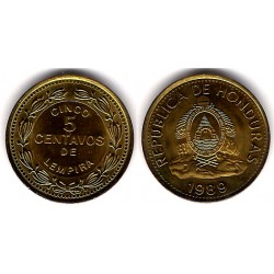 (72.2a) Honduras. 1989. 5 Centavos (SC)