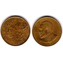 (1) Kenia. 1966. 5 Cents (MBC)