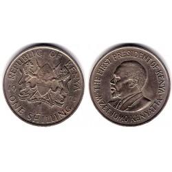 (14) Kenia. 1971. 1 Shilling (MBC)