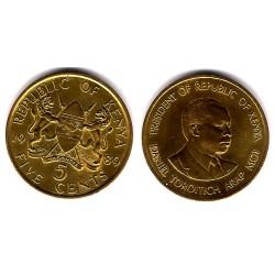 (17) Kenia. 1989. 5 Cents (SC)