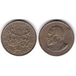 (44) Kenia. 1966. 50 Cents (MBC)