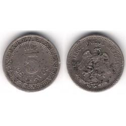 (421) Estados Unidos Mexicanos. 1906. 5 Centavos (BC)