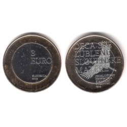 Eslovenia. 2019. 3 Euro (SC)