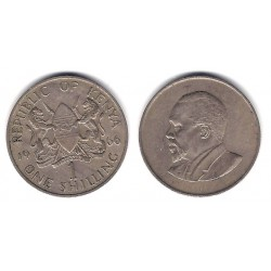 (5) Kenia. 1966. 1 Shilling (MBC)