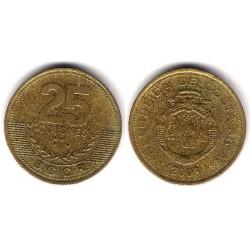 (229a) Costa Rica. 2003. 25 Colones (MBC-)