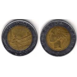 (111) Italia. 1985. 500 Lira (MBC)