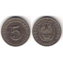 (23.2) Panamá. 1983. 5 Centesimos (MBC)