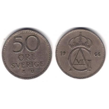 (837) Suecia. 1966. 50 Ore (MBC)