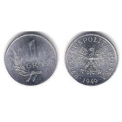 (Y39) Polonia. 1949. 1 Grosz (SC)