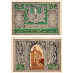 Alemania. Finsterwalder. 1921. 25 Pfennig (EBC+)