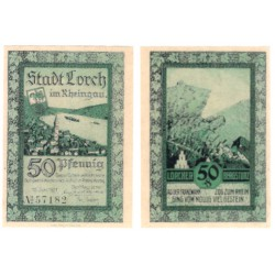 Alemania. Lorch. 1921. 50 Pfennig (SC-)