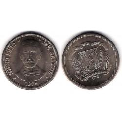 (52) República Dominicana. 1979. Medio Peso (SC)