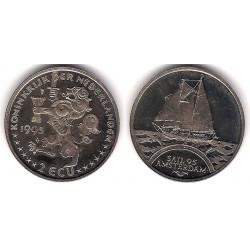 Países Bajos. 1995. 2 Ecu (SC)