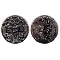 Países Bajos. 1991. 2½ Ecu (SC)