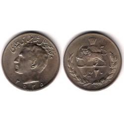 (1209) Irán. 1976. 20 Rials (MBC+)