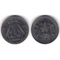 (92.2) India. 2000. 1 Rupee (MBC)