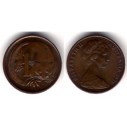 (62) Australia. 1971. 1 Cent (SC)
