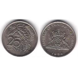 (32) Trinidad y Tobago. 1984. 25 Cents (EBC)