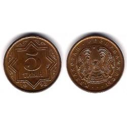 (2) Kazajstan. 1993. 5 Tiyin (EBC)