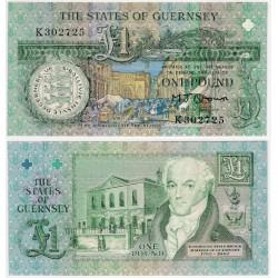 (52a) Guernsey. 1991-2016. 1 Pound (SC)
