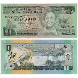 (30b) Etiopia. 1976. 1 Birr (SC)