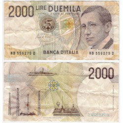 (115) Italia. 1990. 200 Lira (MBC)