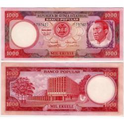 (13) Guinea Ecuatorial. 1975. 1000 Ekuele (SC)