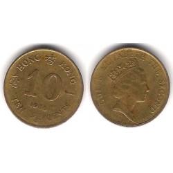 (55) Hong Kong. 1986. 10 Cents (MBC-)