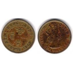 (28.1) Hong Kong. 1959. 10 Cents (BC+)