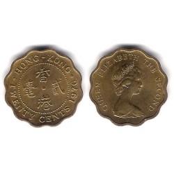 (36) Hong Kong. 1976. 20 Cents (EBC)
