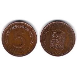 (Y49) Venezuela. 1974. 5 Céntimos (EBC)
