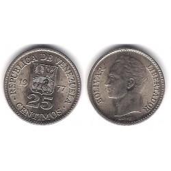 (Y50.2) Venezuela. 1977. 25 Céntimos (SC)