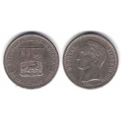 (Y74) Venezuela. 1965. 50 Céntimos (MBC)