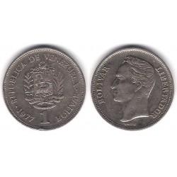 (Y52) Venezuela. 1977. 1 Bolivar (MBC)