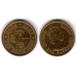 (28.1) Hong Kong. 1967. 10 Cents (MBC-)