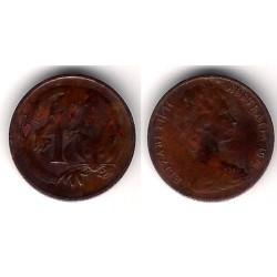 (62) Australia. 1972. 1 Cent (BC)