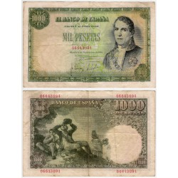 Estado Español. 1949. 1000 Pesetas (MBC-) Sin Serie