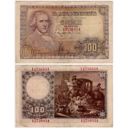 Estado Español. 1948. 100 Pesetas (MBC) Serie I